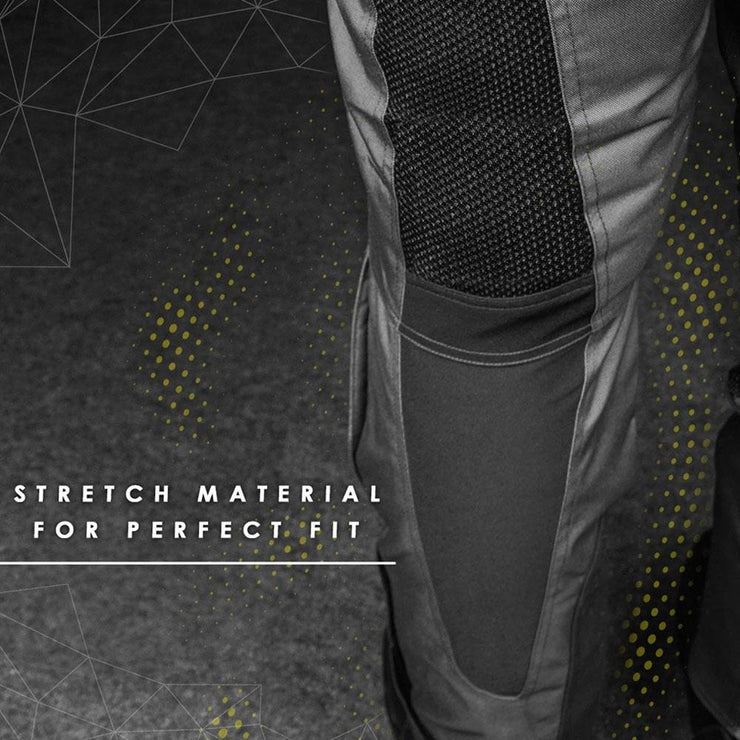 ASPIDA Proteus II Airmesh Sports Pants stretch material