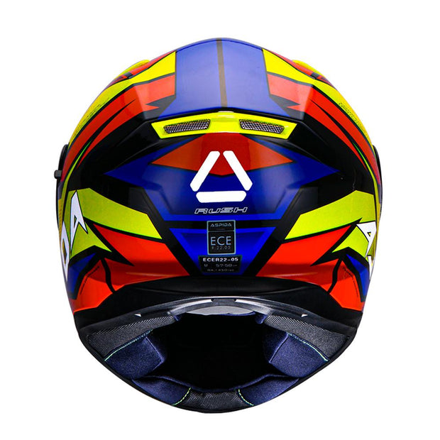 Aspida Tourance Rush Helmet Back Side  View