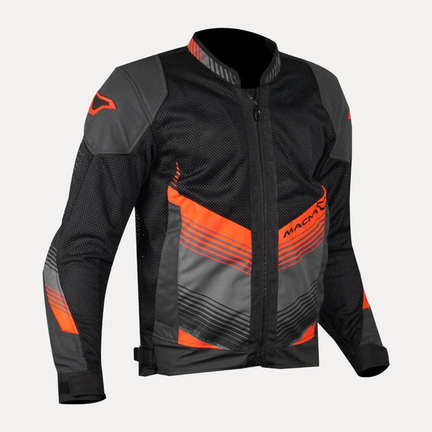 MACNA Rewind Mesh Jacket Black Orange front