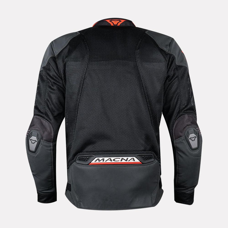 MACNA Rewind Mesh Jacket Black Orange back