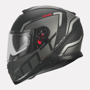 MT Thunder3 SV Rikos Helmet grey side view