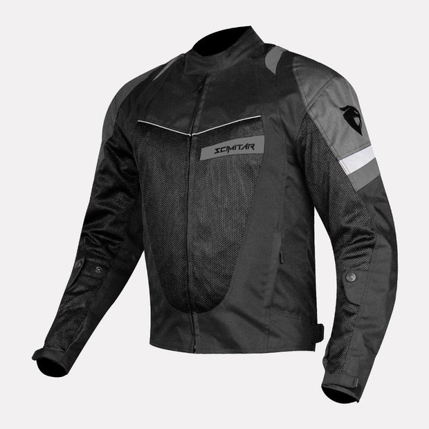 SCIMITAR-Razor-Black-Riding Jacket