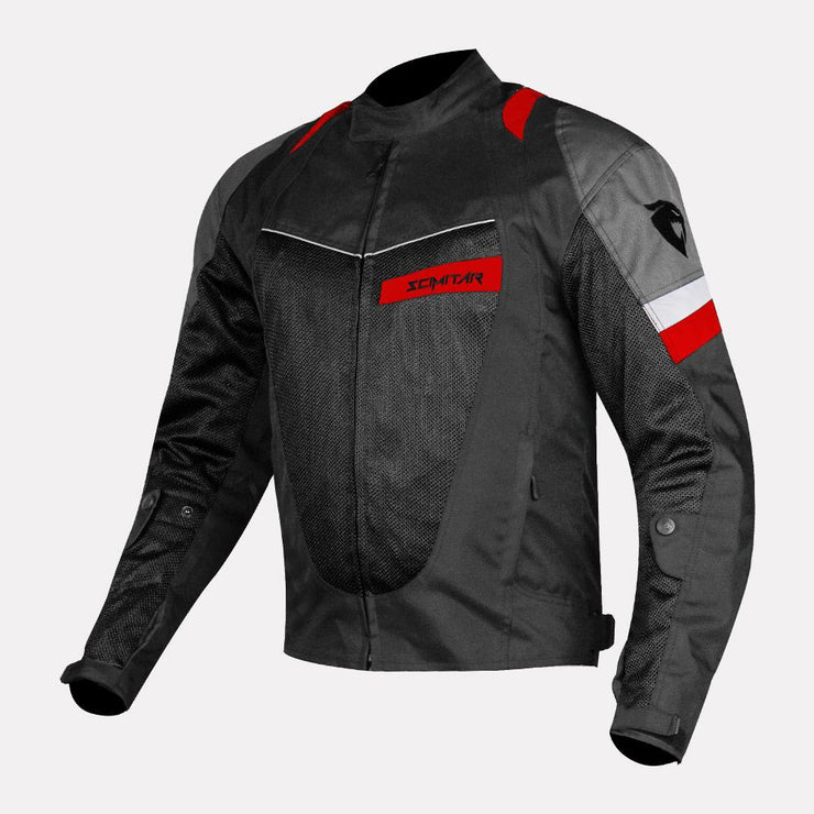 SCIMITAR-Razor-Dark Red-Riding Jacket