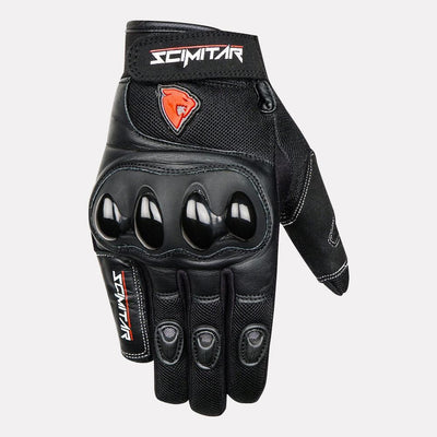 SCIMITAR Street Short Cuff Gloves front
