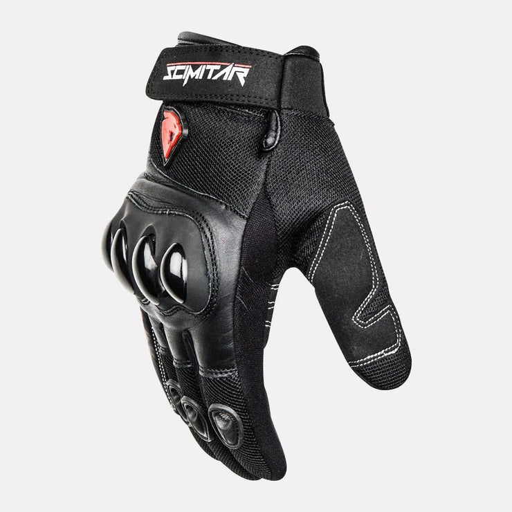 SCIMITAR Street Short Cuff Gloves side
