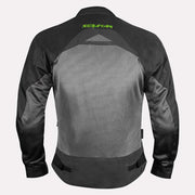 SCIMITAR Cosmo Jacket-black And Fluorescent Green