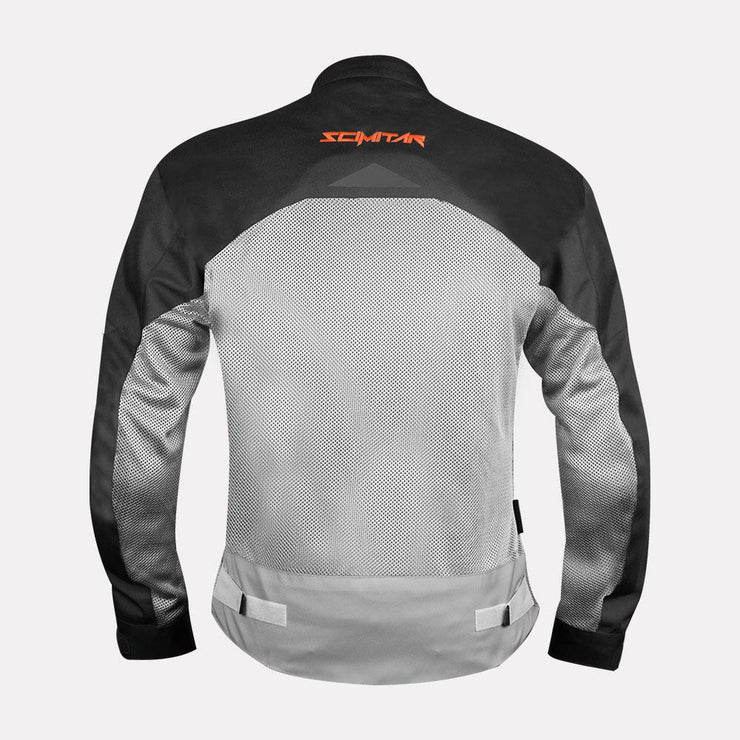 SCIMITAR Cosmo Jacket-black And Fluorescent Orange