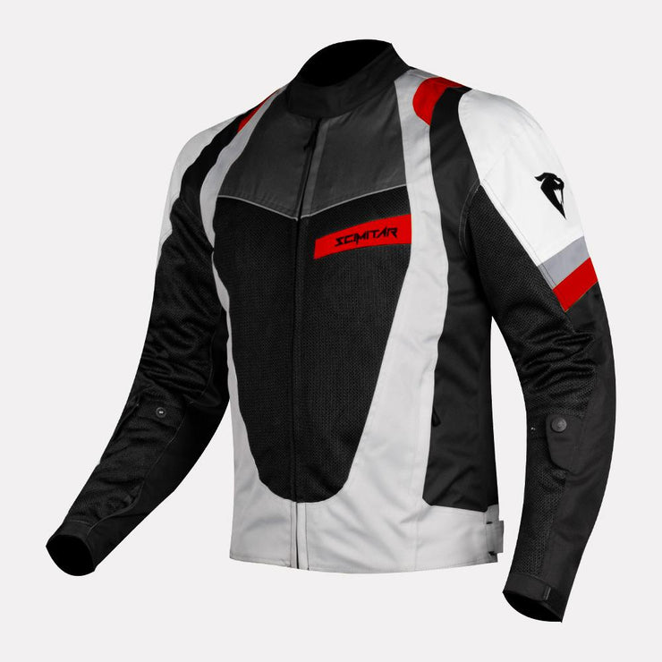 SCIMITAR-Razor-Light Red-Riding Jacket