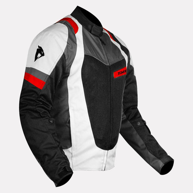 SCIMITAR Razor V3 L-2 Riding Jacket (Light Grey)