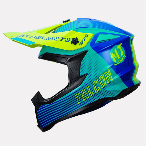 MT Helmet Falcon System Off Road Motorcycle