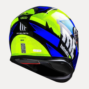 MT Thunder3 SV Torn Gloss Helmet