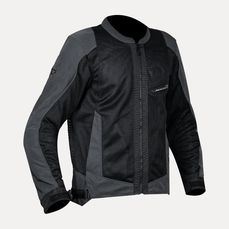 Macna Velocity Riding Mesh Jacket Grey front
