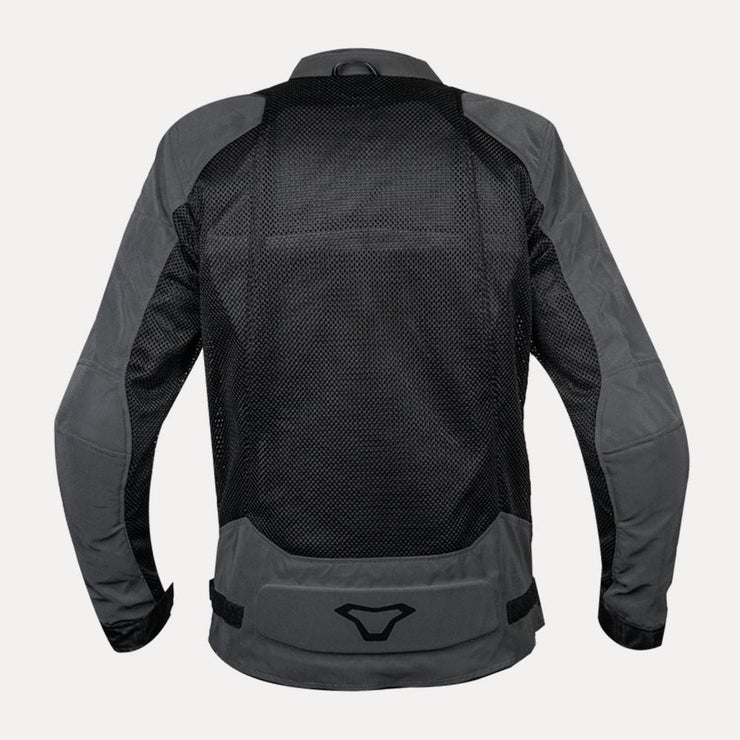 Macna Velocity Riding Mesh Jacket Grey back
