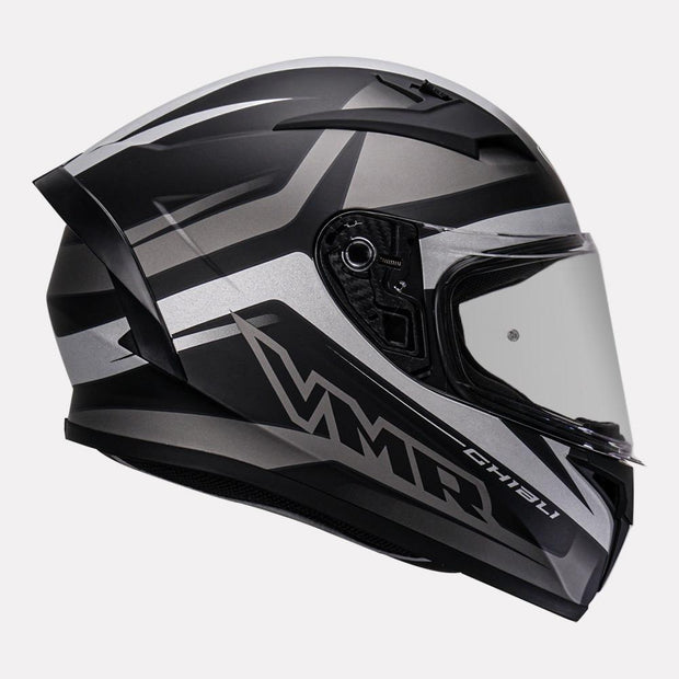 Vemar Ghibli Helmet grey side view