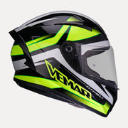 Vemar Ghibli Helmet yellow side view