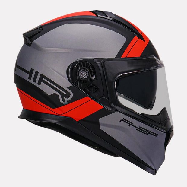 Vemar Zephir Mars Helmet red side view
