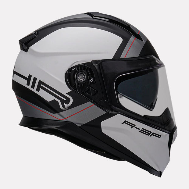 Vemar Zephir Mars Helmet white side view