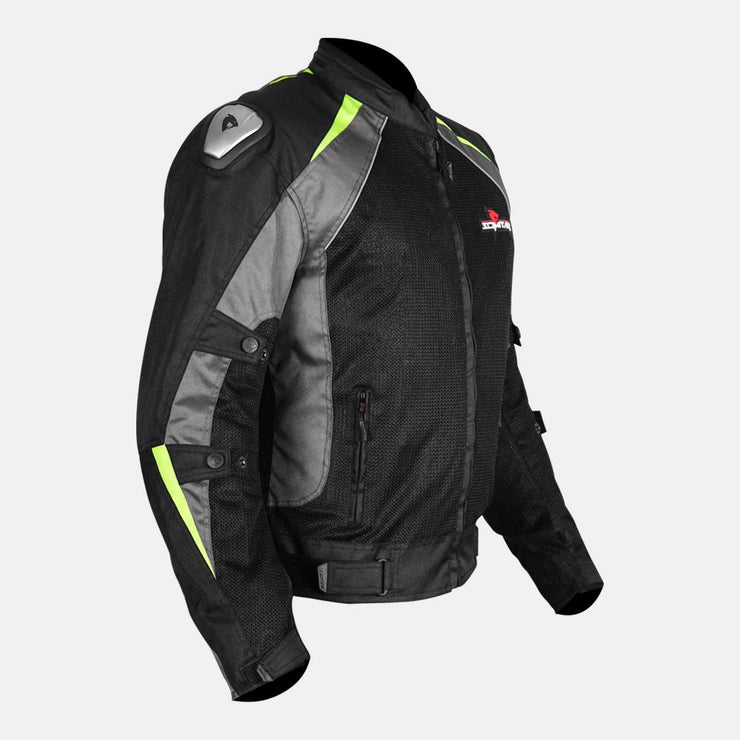 SCIMITAR Viper 2 L2 Jacket fluorescent green side