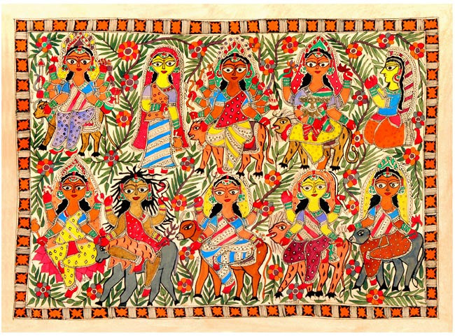 Madhubani-The Folk Hand Painted Art