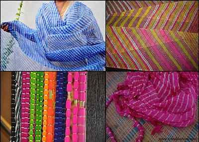 LEHERIA – INDIAN HANDWORK ('TIE & DYE' METHOD - MULTICOLORED)
