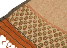 Load image into Gallery viewer, Vintage Dupatta Long Stole Woolen Brown Wrap Hijab Printed Veil Floral Scarves