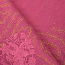 Load image into Gallery viewer, Sanskriti Vintage Pink Heavy Sarees Pure Georgette Silk Hand Beaded Sari Fabric