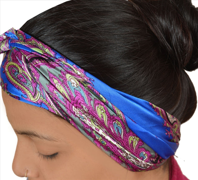 New Printed Head Scarf Women Ladies Neck Wrap Hijab Satin Silk Soft Floral Veil