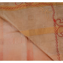Load image into Gallery viewer, Vintage Indian Ethnic Saree 100% Pure Silk Hand Embroidered Craft Fabric Sari