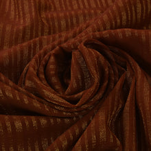 Load image into Gallery viewer, Antique Vintage Indian Saree Georgette Hand Embroidery Woven Craft Fabric Sari