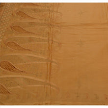 Load image into Gallery viewer, Sanskriti Vintage Indian Saree 100% Pure Silk Hand Beaded Saffron Fabric Sari