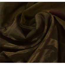 Load image into Gallery viewer, Sanskriti Vintage Indian Saree Cotton Blend Woven Green Craft Fabric Sari