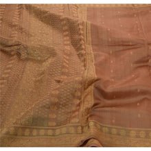 Load image into Gallery viewer, Sanskriti Vintage Indian Saree 100% Pure Silk Woven Fabric Ethnic Premium Sari