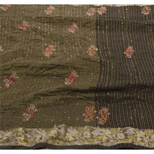 Load image into Gallery viewer, Sanskriti Vintage Indian Saree Georgette Hand Beaded Woven Fabric Premium Sari