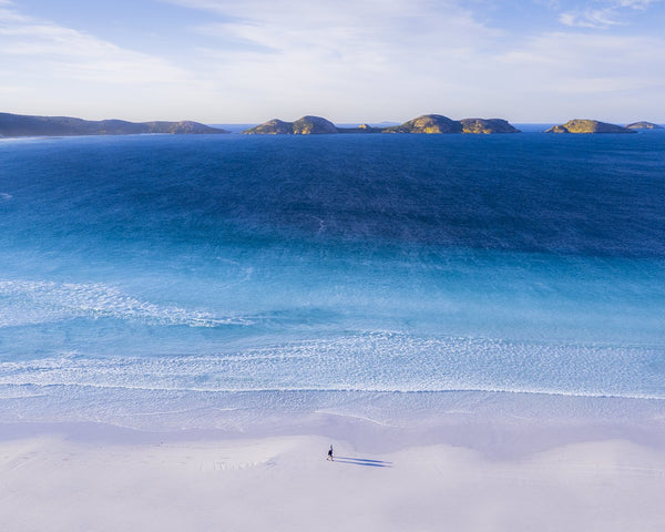 Stunning mornings at Lucky Bay, Esperance