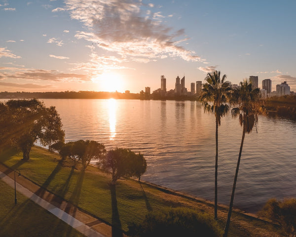 The colouts of sunset in South Perth