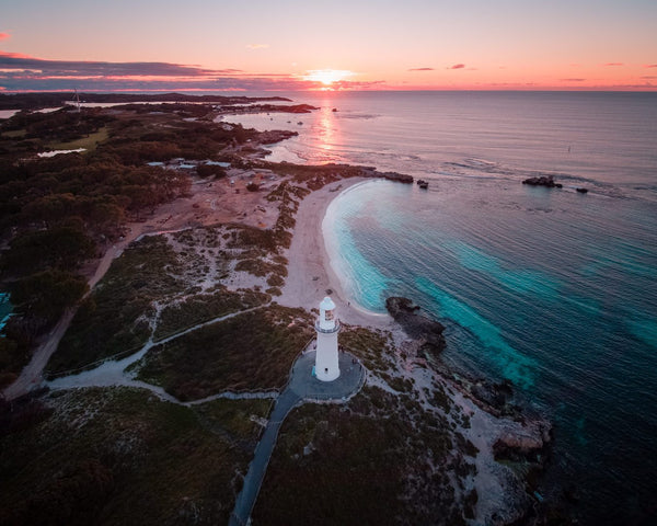 Sunset at the Bathurst Lighthouse