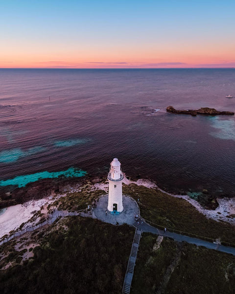 The beauty of the Bathurst Lighthouse