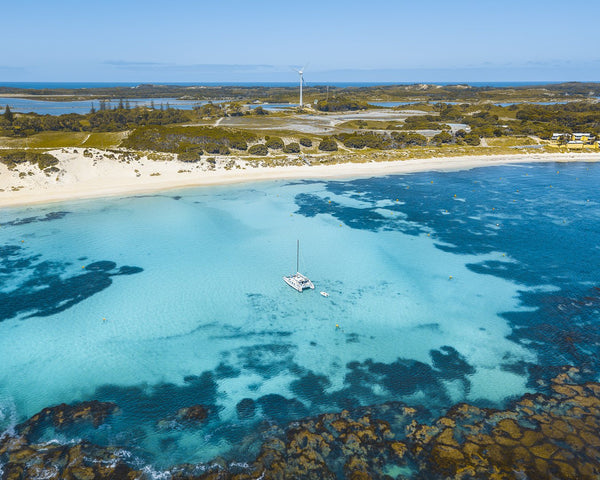Blue waters of Rottnest Island