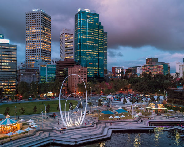 Elizabeth Quay Lights