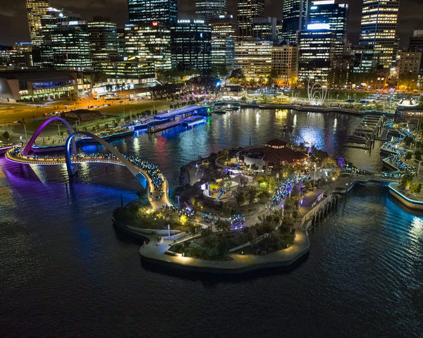 Light the Night - Elizabeth Quay