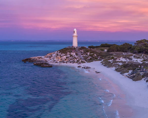 Pink Sunset at Pinky Beach, Bathurst Lighthouse