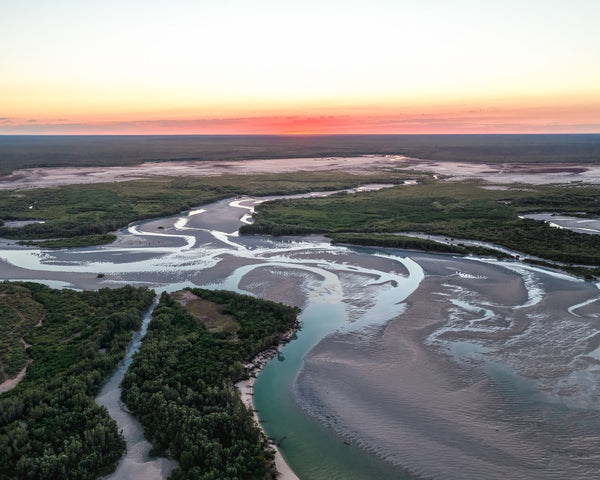 Sunrise at Willies Creek, Broome