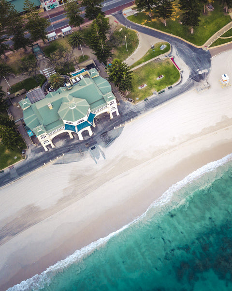 COTTESLOE BEACH FROM ABOVE