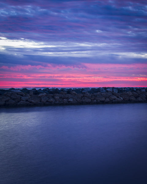 INCREDIBLE COLOURS OF FREMANTLE'S SUNSET