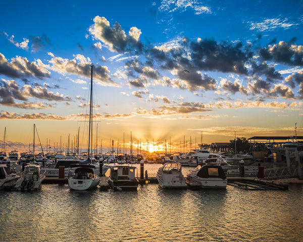 HILLARYS SUNSET