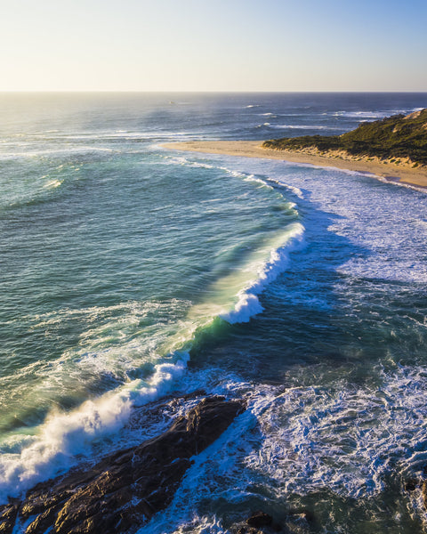 WAVES IN MARGARET RIVER