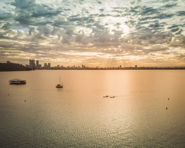 MATILDA BAY SUNRISE VIEW