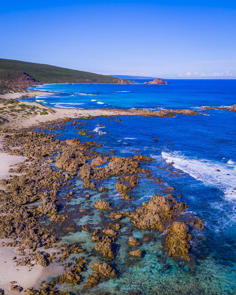 Cape Naturaliste and Sugar Loaf in the background