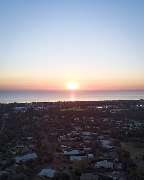 Sunrise in Dunsborough