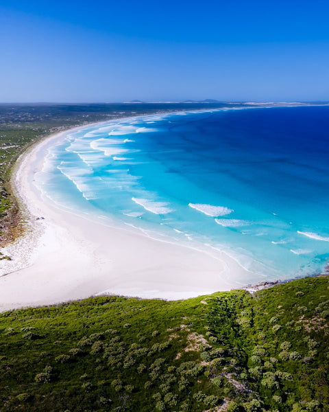 Beautiful cost line at Cape Arid, Esperance